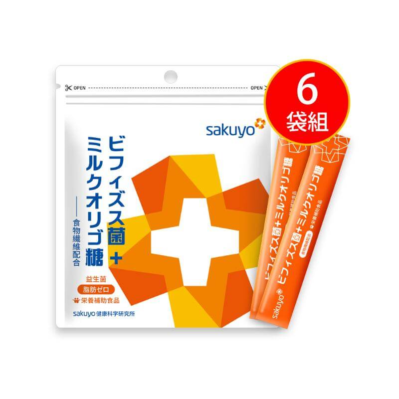 【sakuyo】益生菌-比菲德氏菌+乳寡醣(30條/盒)_6盒組
