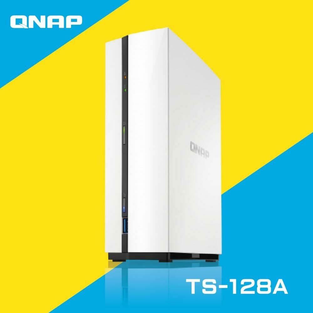 QNAP 威聯通 TS-128A 1Bay 網路儲存伺服器